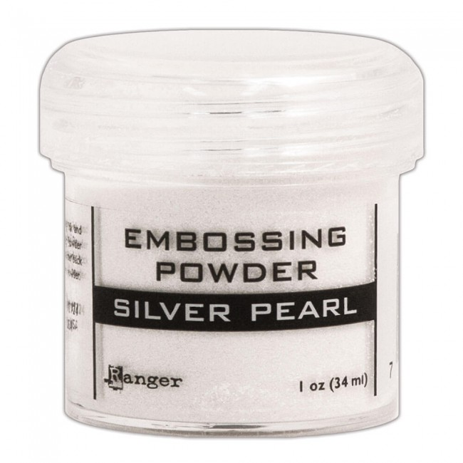 Poudre d'embossing Silver Pearl