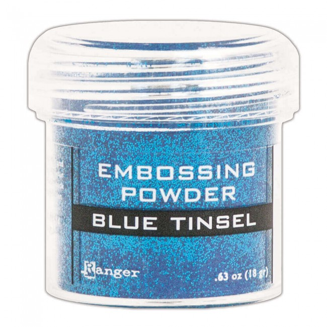 Poudre d'embossing Blue Tinsel