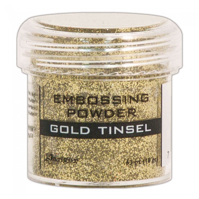 Poudre d'embossing Gold Tinsel