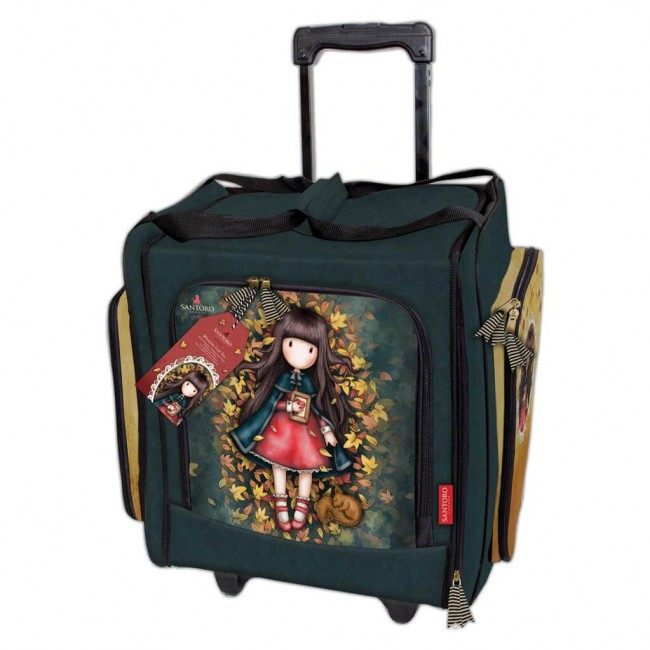 Valise Autumn Leaf Gorjuss