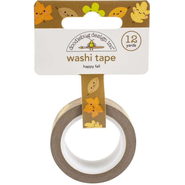 Washi Tape Happy Fall