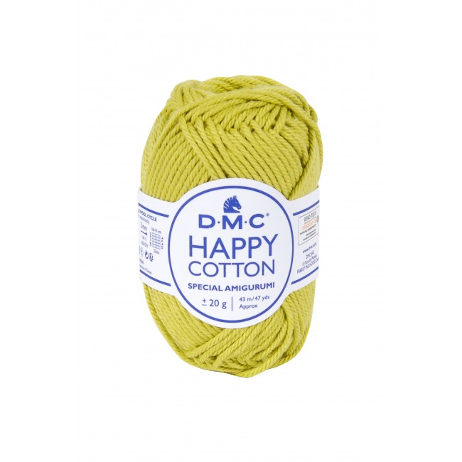 Fil pour amigurumis en coton DMC Happy Cotton 752