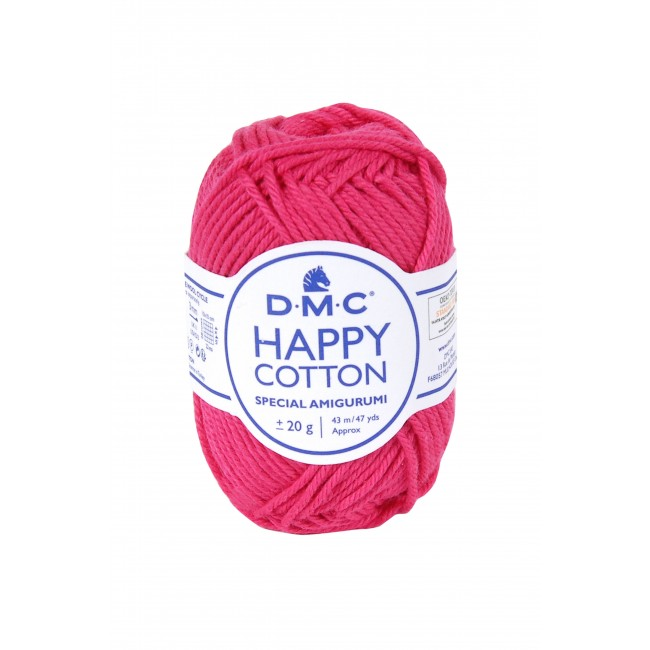 Fil pour amigurumis en coton DMC Happy Cotton 755