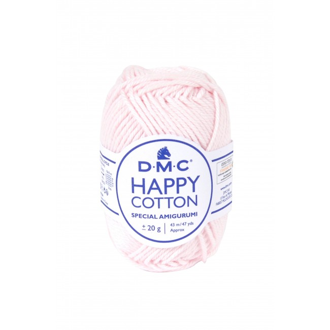 Fil pour amigurumis en coton DMC Happy Cotton 763