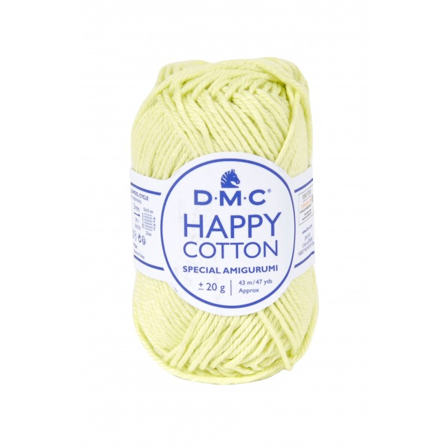 Fil pour amigurumis en coton DMC Happy Cotton 778