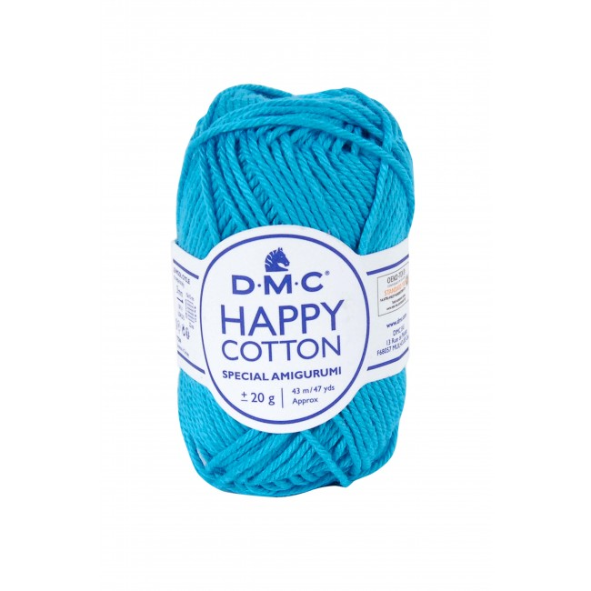 Fil pour amigurumis en coton DMC Happy Cotton 786