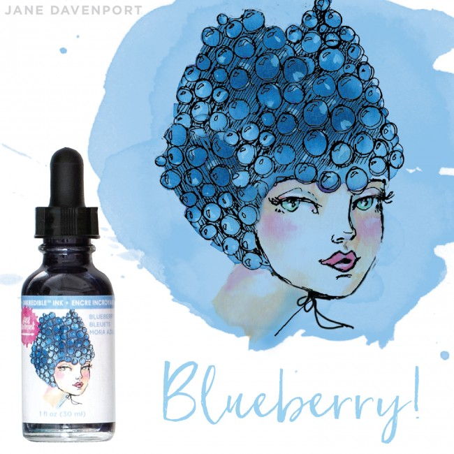 Encre Inkredible - Blueberry