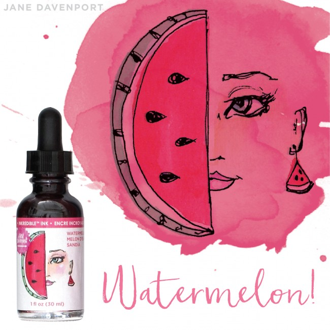 Encre Inkredible - Watermelon