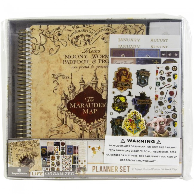 Kit Agenda Marauder's Map