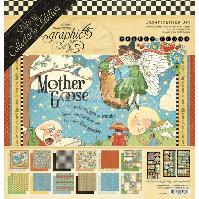 Kit Papiers Collector's Deluxe Deluxe Collector s Edition Mother Goose