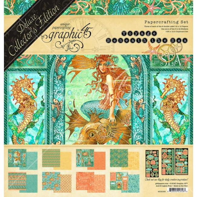 Kit Papiers Collector's Deluxe Deluxe Collector s Edition Voyage Beneath The Sea