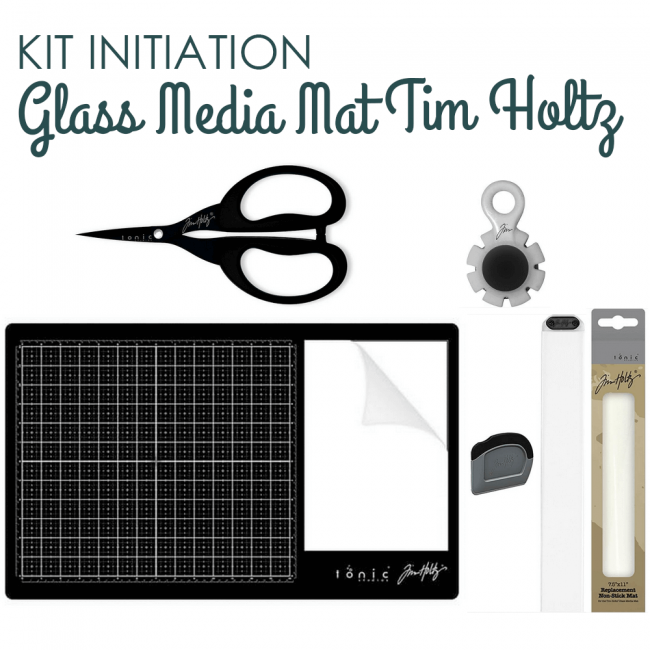 Kit Initiation Glass Mat Tim Holtz