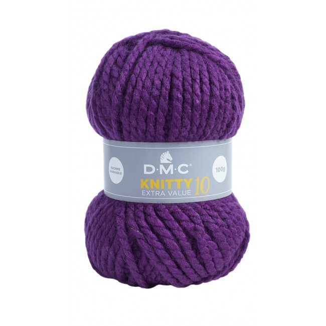 Laine acrylique épaisse DMC Knitty 10 Just Knitting 840