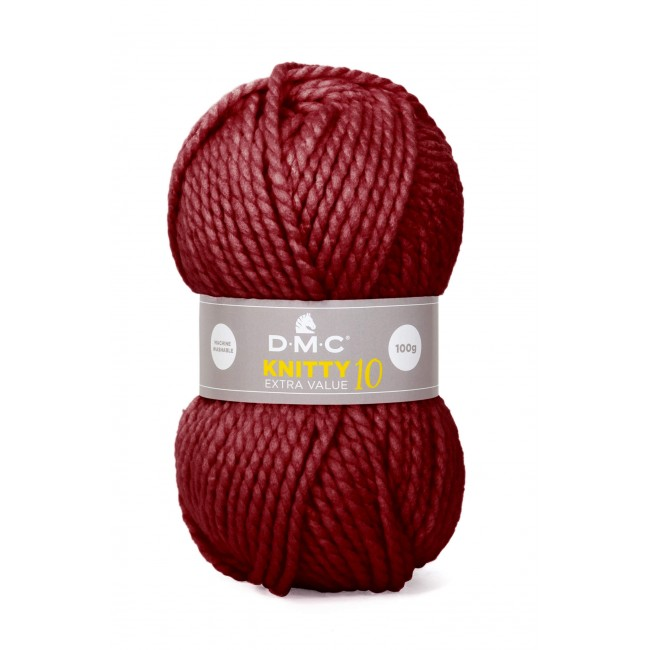 Laine acrylique épaisse DMC Knitty 10 Just Knitting 841