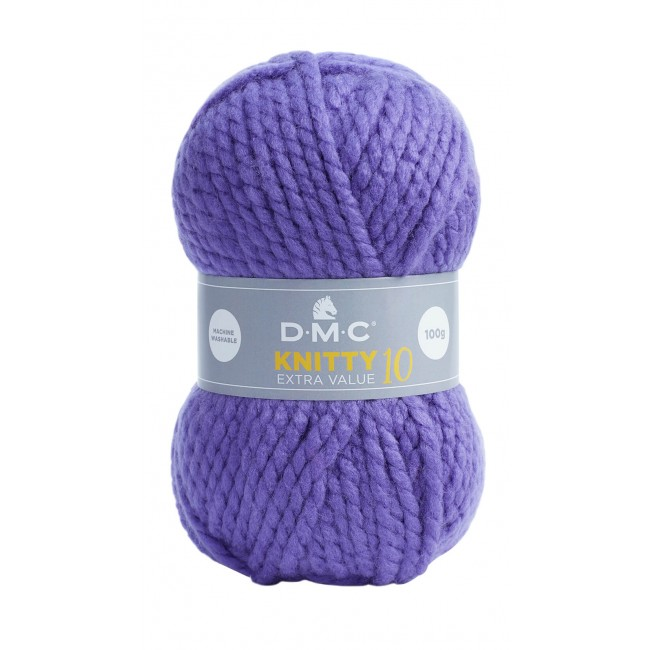 Laine acrylique épaisse DMC Knitty 10 Just Knitting 884
