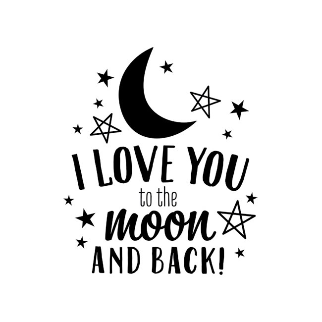 Love you to the moon Vinyl -30% PROMO