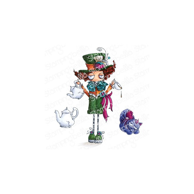 Tampon en Caoutchouc Oddball Mad Hatter