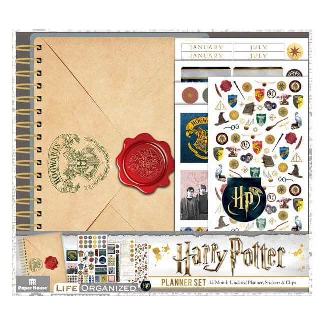Kit Agenda Mini Harry Potter