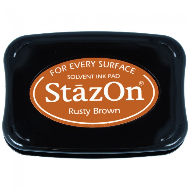 Encre StazOn Rusty Brown