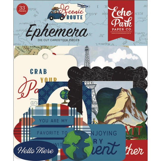 Die Cuts Scenic Route Icons