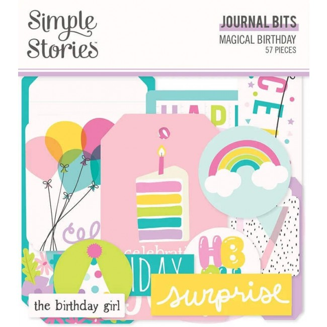 Die Cuts Magical Birthday Journal
