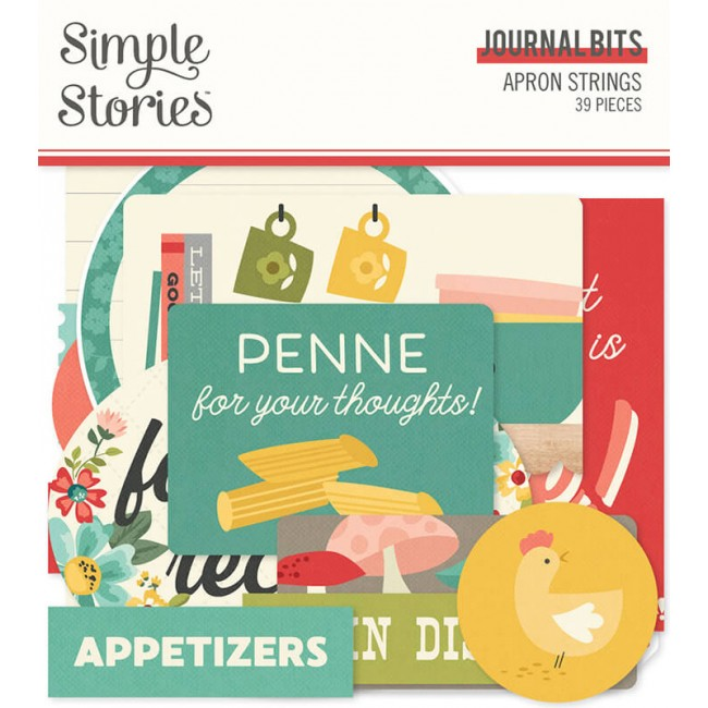 Die Cuts Apron Strings Journal