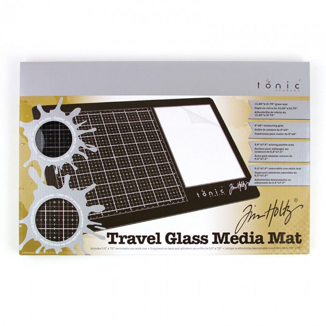 Tapis de Découpe Travel Glass Media Mat