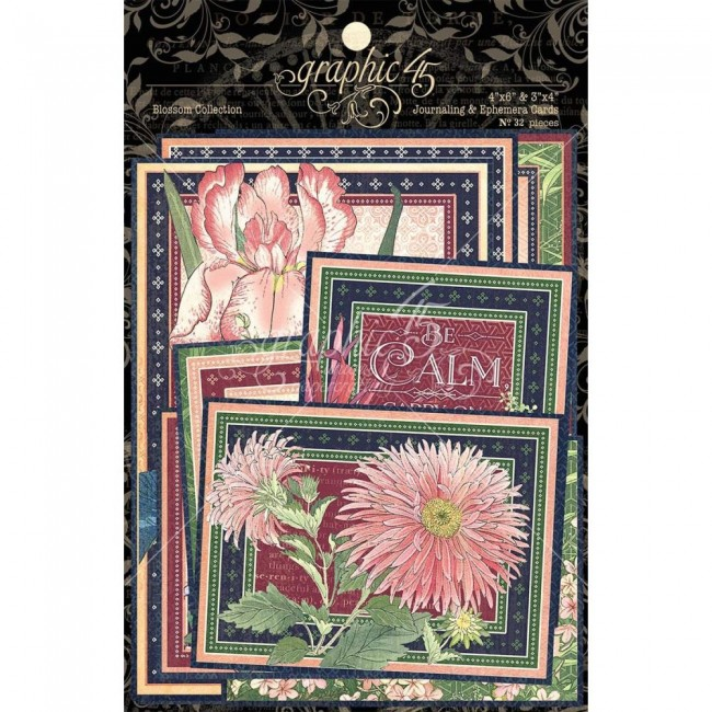 Lot de Cartes Project Life Blossom