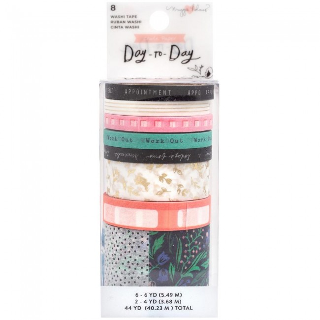 Lot de Washi Tape Day to Day Maggie Holmes Daily