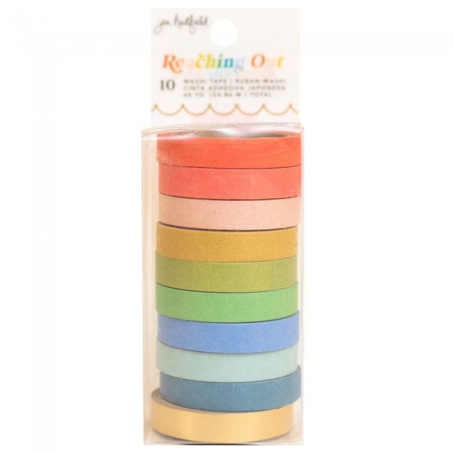 Lot de Washi Tape Reaching Out Jen Hadfield Solid