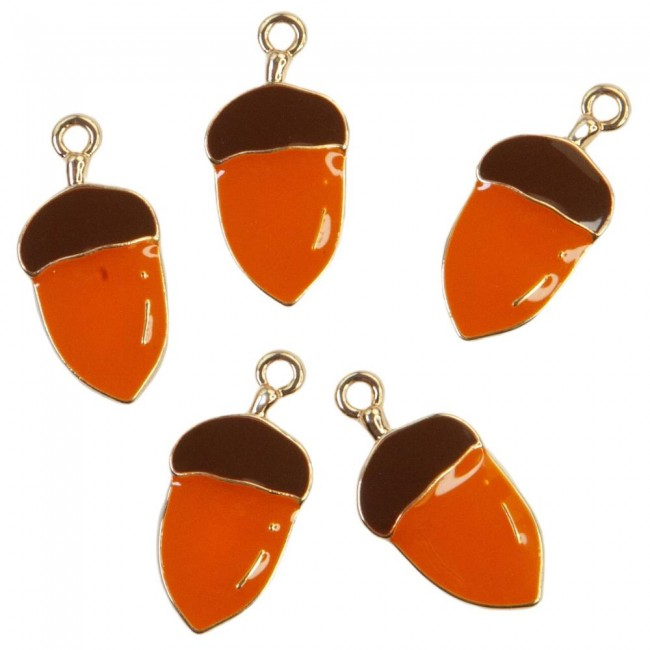 Set de Charms Pumpkin & Spice Acorns