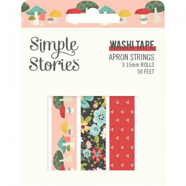 Lot de Washi Tape Apron Strings