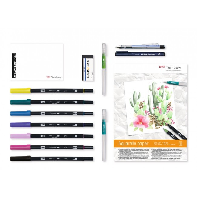 Lot Feutres Tombow Have Fun @ Home Watercoloring