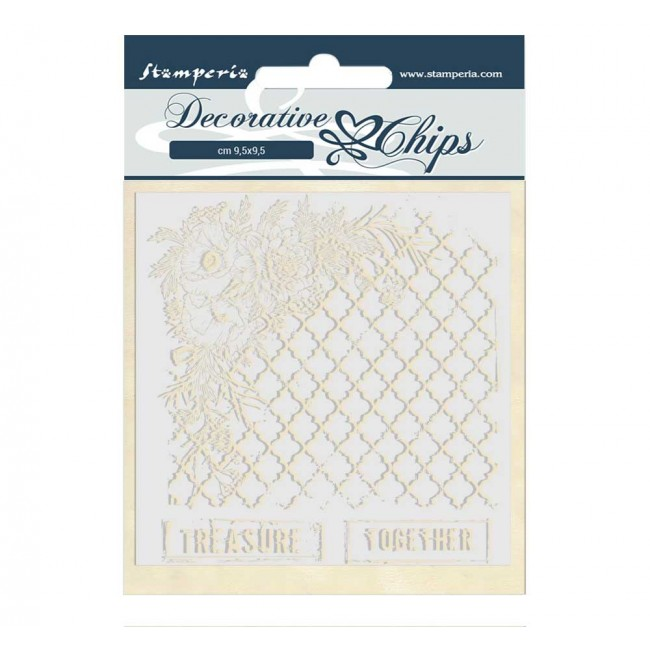 Chipboard Romantic Collection Treasure together