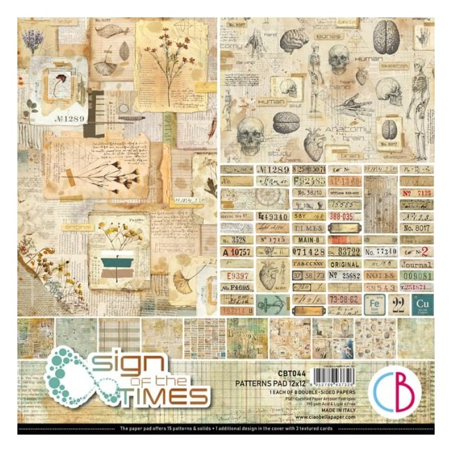 Stack Papiers Basiques 12x12 Sign Of The Times
