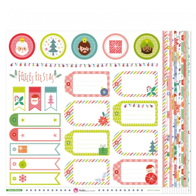 Kit Papiers Felices Fiestas