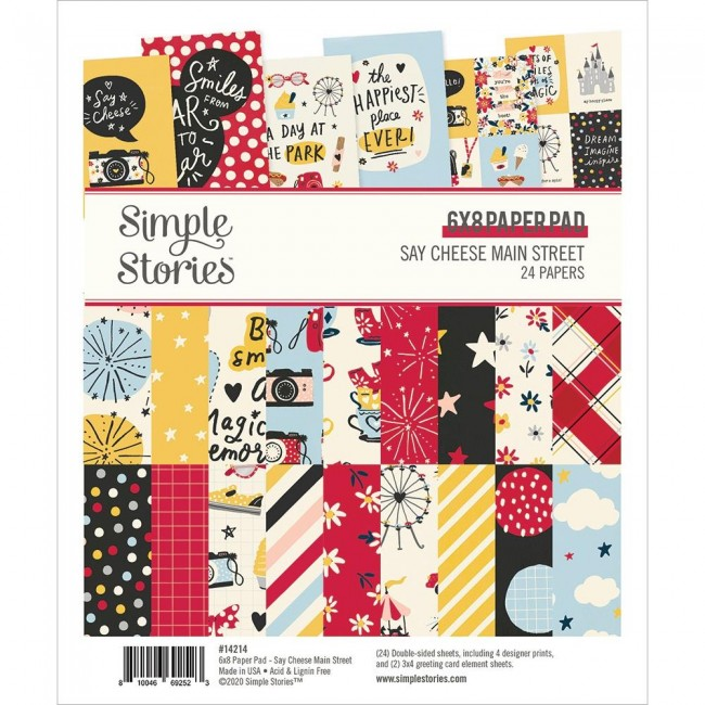 Stack Papiers Imprimés 6x8 Say Cheese Main Street