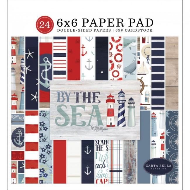 Stack Papiers Imprimés 6x6 By The Sea  12 Designs/2 Each