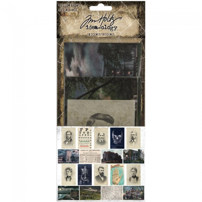 Cartes Project Life Vellum Halloween Haunts
