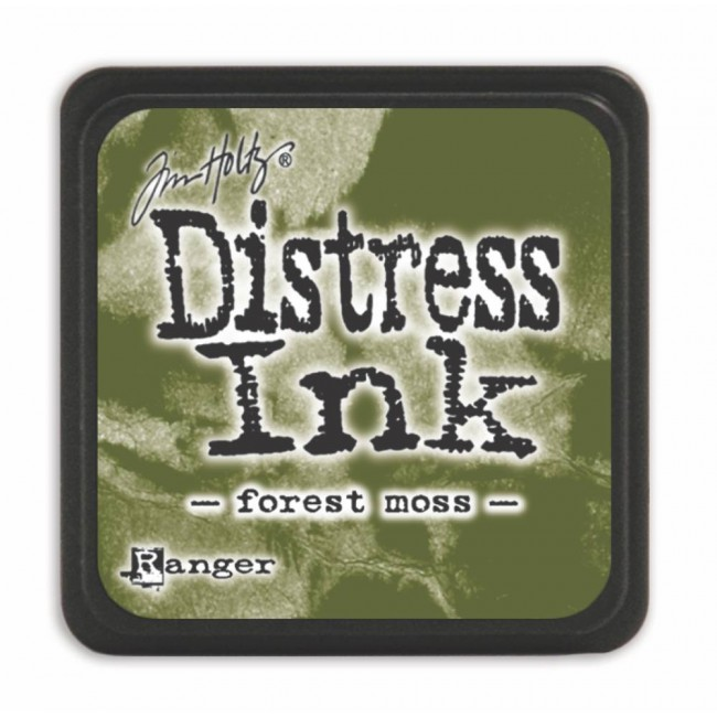 Encre Mini Distress Ink Forest Moss