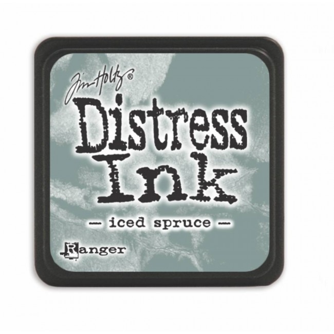 Encre Mini Distress Ink Iced Spruce