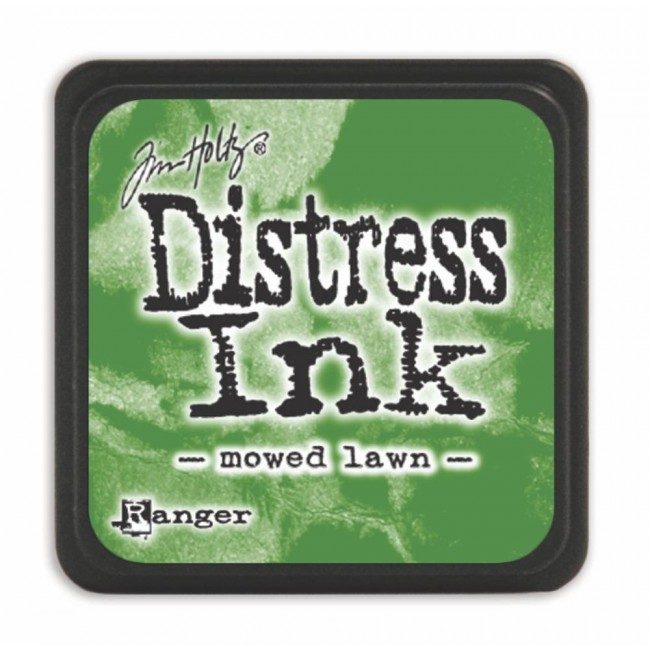 Encre Mini Distress Ink Mowed Lawn