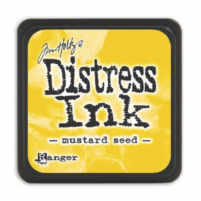 Encre Mini Distress Ink Mustard Seed