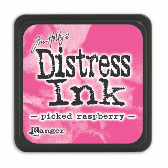Encre Mini Distress Ink Picked Raspberry