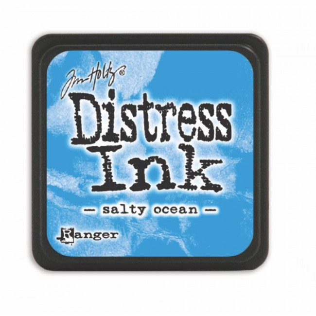 Encre Mini Distress Ink Salty Ocean