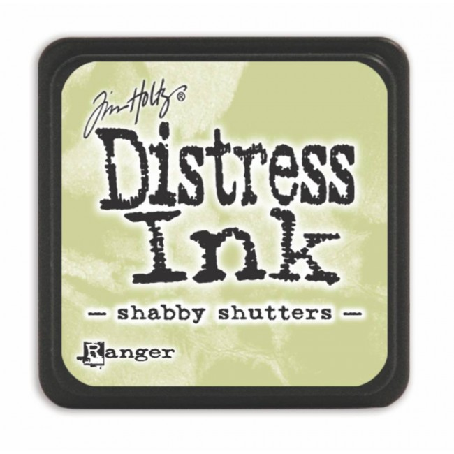 Encre Mini Distress Ink Shabby Shutters