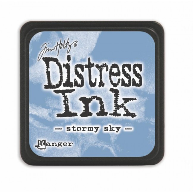 Encre Mini Distress Ink Stormy Sky
