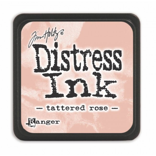 Encre Mini Distress Ink Tattered Rose