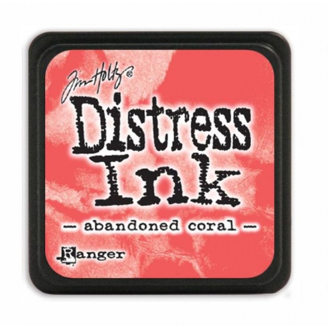 Encre Mini Distress Ink Abandoned Coral