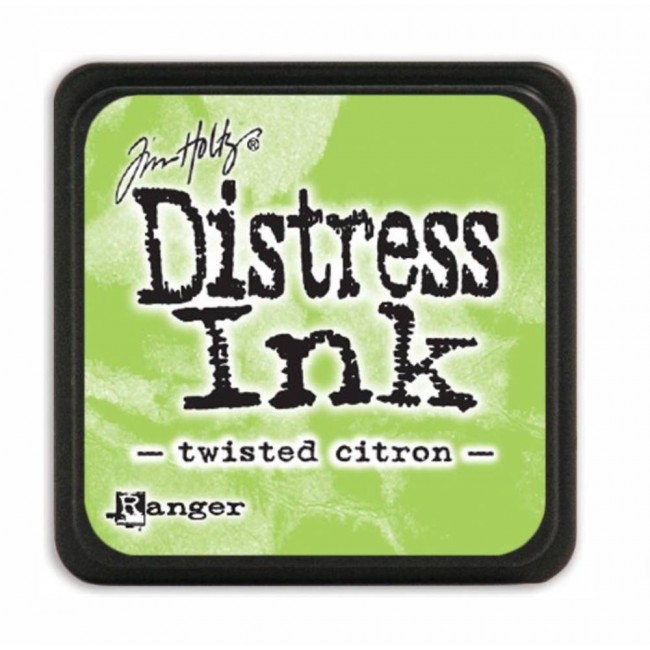 Encre Mini Distress Ink Twisted Citron